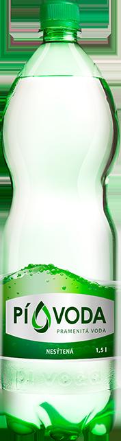 PÍ VODA pramenitá voda nesýtená 1,5l